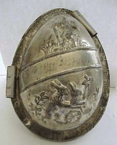 NR!! Antique Anton Reiche INCREDIBLY DETAILED Easter Egg  Mold Mould