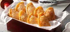 Chicken Empanadas by Nestle Club Recipes Chicken Empanada Recipe, Chicken Empanadas, Empanadas Recipe, Snack Recipes, Cooking Recipes, Snacks, Puff And Pie, Diced Carrots, Fresh Milk