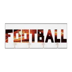 Football Design Key Hanger