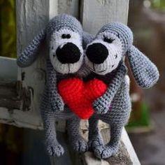 Boofle dog crochet pattern - printable PDF