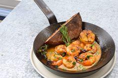 Cavan's butter-baked shrimp with grilled bread is not to be missed. (Photo: Cavan/Facebook.)