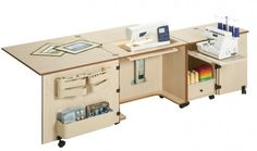 Quilting Sewing Machine Tables and Cabinets