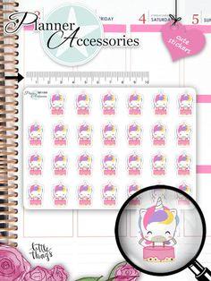 Birthday Stickers Birthday Planner Stickers von EmelysPlannerShop