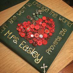 Early childhood education major graduation cap