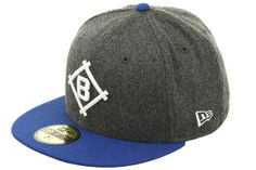 New Era 2Tone Brooklyn Dodgers 1912 Fitted Hat - Flannel.