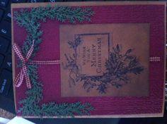 Christmas card I made this Christmas