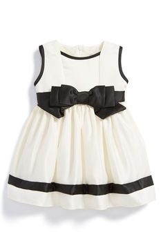 Dorissa Sleeveless Satin Dress (Baby Girls) available at #Nordstrom