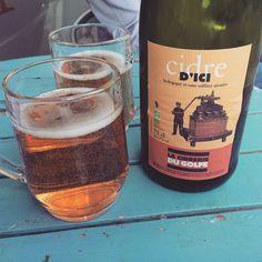 Friday drink . #cider #french #drinks #friday #stockbridge #stockbridgeedinburgh #edinburgh