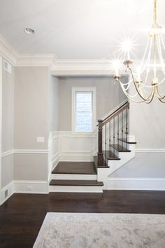 Living Space transitional-staircase
