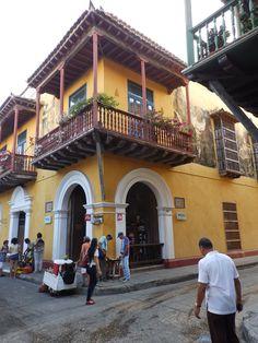 Spanish Architecture #Cartagena #Colombia