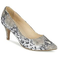 ¿Cómo resistirse a estos zapatos de tacón Zaloi, tesoro firmado por Balsamik. Su corte en piel es flexible y su color beige está muy de moda. Cada detalle es trabajado con precisión, desde su tacón  de 8 cm, hasta la suela en caucho.   Con solo una mirada nos han enamorado.  - Color : Beige / Serpiente / Negro - Zapatos Mujer 63,99 €