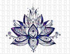Lotus Flower Svg/Lotus Svg/Svg/Lotus Flower/ Lotus / Silhouette / Yoga / Flower svg / Cricut / Colorful Mandala Tattoo, Mandala Arm Tattoo, Lotus Flower Mandala, Lotus Flowers, Lotus Flower Design, Lotus Mandala Design, Lotus Flower Meaning, Blue Lotus Flower, Hamsa Tattoo