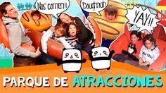 Parque de ATRACCIONES * Vlogs familiares en español - YouTube