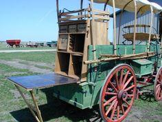 Peter Schuttler Chuck Wagon - Hansen Wheel & Wagon Shop