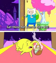 The Best Puns Ever Seen In Cartoons - Gallery Best Puns Ever, Adventure Time Quotes, Land Of Ooo, Pokemon, Lumpy Space Princess, Finn The Human, Jake The Dogs, Bubbline, Tree Trunks