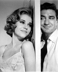 Jane Fonda and Rod Taylor - Sunday in New York