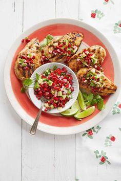 Dish, Food, Cuisine, Ingredient, Pomegranate, Vegetarian food, Produce, Staple food, Salad, Recipe,