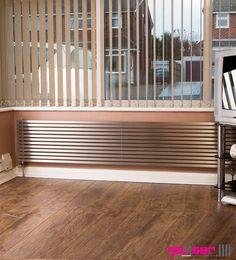 """Geyser """"CUBO"""" Brushed Stainless, Designer Radiator #designerradiator #stainlesstseelradiator #brushedstainlessradiator"""