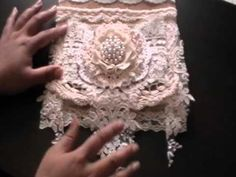Msgardengrove1 DT Project - Lace Bag