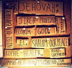 Names of God, blog, Christanity, God, Yahweh, Jehovah, Jesus, Rapha