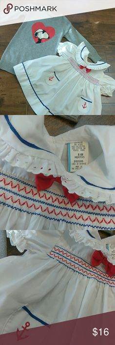 Little darlings bundled💋 Sailor dress 18 months Great used  condition  Snoopy baby GAP 2years Dresses