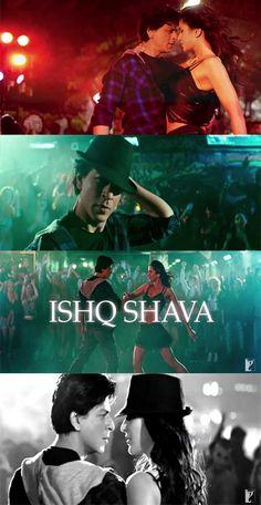 SRK and Katrina Kaif 'Ishq Shava' - Jab Tak Hai Jaan (2012)