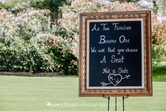 Kate & Company Weddings, Chandler, AZ | Ceremony & Reception Site: Ocotillo Golf Resort | Photography: Brooke Photography | Welcome Sign