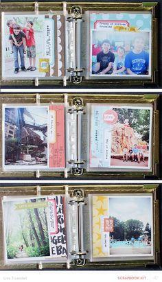 capture your summer - mini album