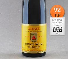 Indicação Jorge Lucki: Pinot Noir d'Alsace Hugel #vinho #pinotnoir #alsácia #robertparker #jorgelucki