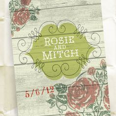 Save the Date Postcards  A Little Bit Country Wedding by shoutout, $95.00