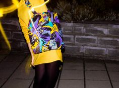 Handmade unique design tote bag with 80s 90s by pleasureispretty, $20.00
