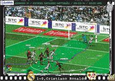 Real Madrid CF, 5 - Rayo Vallecano, 0 - Cristiano Ronaldo, 1-0, min.15'