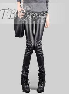 US$24.99 Chic Korean Style Leisure Split Joint Slim Pants   . #Jeans #Chic #Joint #Slim