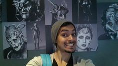 Face Off  Anthony R. and the Wall of Madness! (Sounding off selfies)