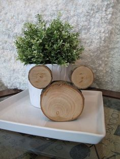 Mickey Mouse Rustic Centerpiece