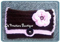 Handmade crochet wallet!