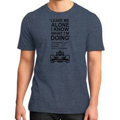 Leave me alone kimi District T-Shirt (on man)
