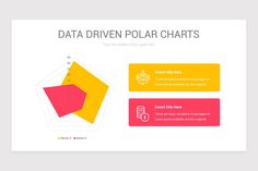 Data Driven Polar Charts PowerPoint Template | Nulivo Market Color Themes, Lorem Ipsum, Charts, Templates, Graphics, Stencils, Graph Of A Function, Vorlage, Models