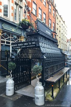 9 Best Loos in London – You Have to See These! The Attendant Cafe in London England Uk, London England, Travel England, London History, London Restaurants, London Pubs, London Travel, London Shopping, Shopping Travel