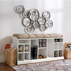 Our Providence Entry Shoe U0026 Boot Bench Offers Unique Storage For Tall Boots  As Well As