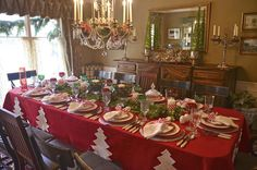 carolyne roehm's tabletop holiday decor If you don't have her books, run...don't walk...to your nearest book ...