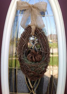 Fall Wreath Thanksgiving Wreath Grapevine by AnExtraordinaryGift, $55.00