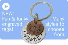 Engraved Dog Tags and other cute stuff