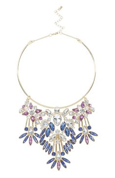 Primark - Facet Stone Statement Torque Necklace