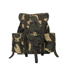 f3a033f6294c Kids Camo Army Ranger Backpack
