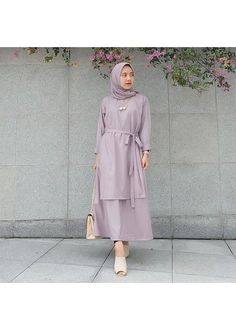 Batik Fashion, Abaya Fashion, Muslim Fashion, Modest Fashion, Skirt Fashion, Fashion Dresses, Kebaya Dress, Hijab Dress, Muslim Dress