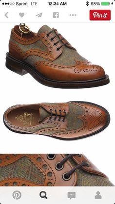5ad525dfb 28 Best Built-To-Order Wingtip Shoes with Colored Soles images ...