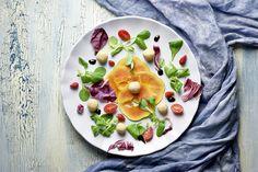 insalata con papaia e fagioli di spagna