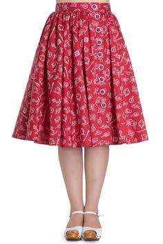 Hell Bunny Marin 50s Skirt