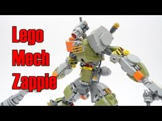 Lego Mech Inspired by the Movie Chappie : Zappie